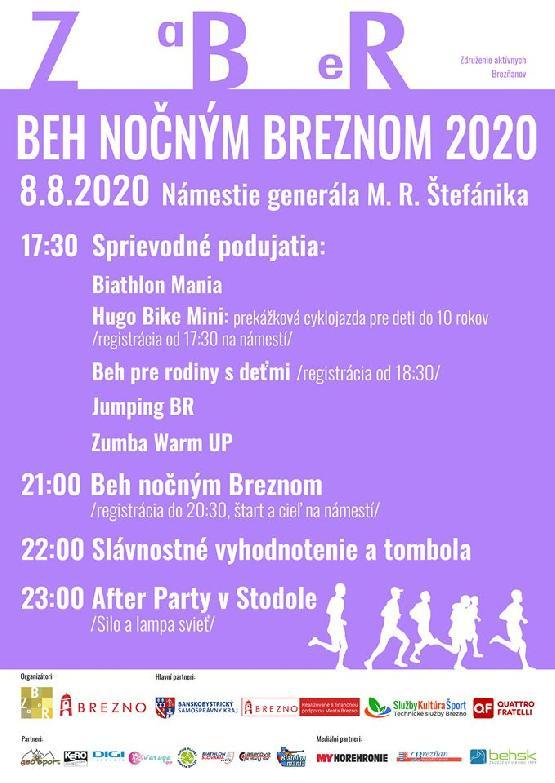 BEH NOČNÝM BREZNOM 2020