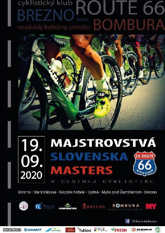 Majstrovstvá Slovenska MASTERS
