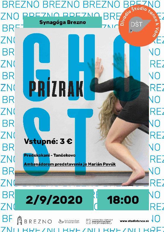Divadlo Štúdio tanca - Ghost/Prízrak