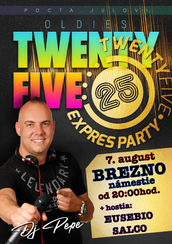 TwentyFive Express Party