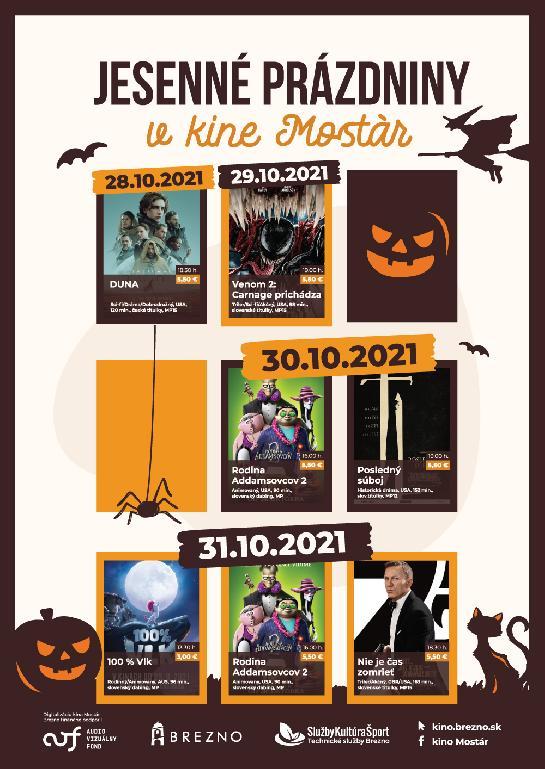 Jesenné prázdniny v kine Mostár