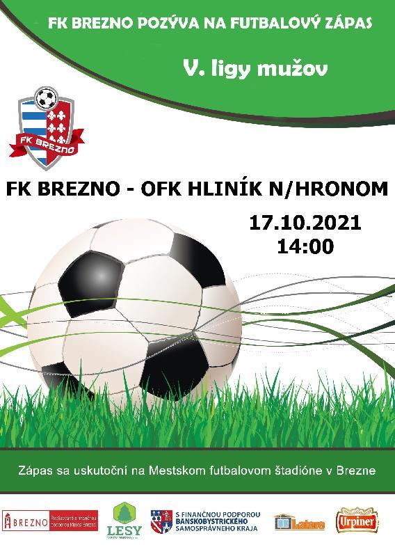 FK BREZNO - OFK HLINÍK N/HRONOM