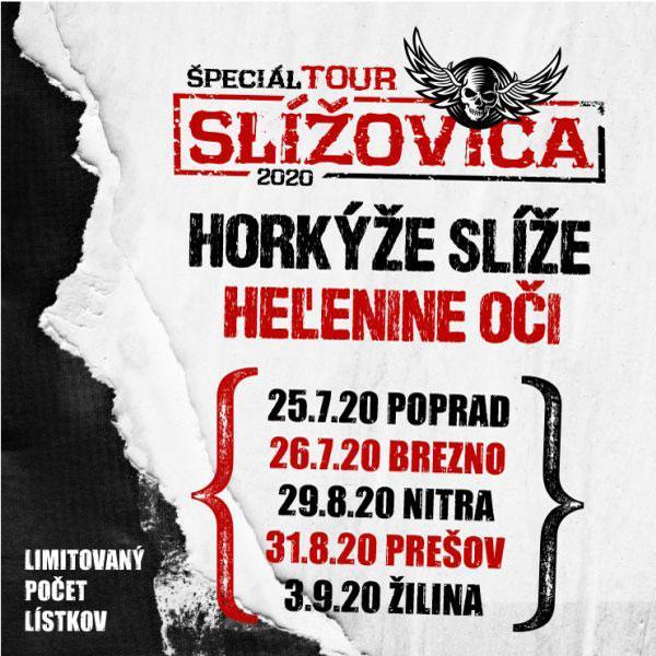 SLÍŽOVICA TOUR 2020