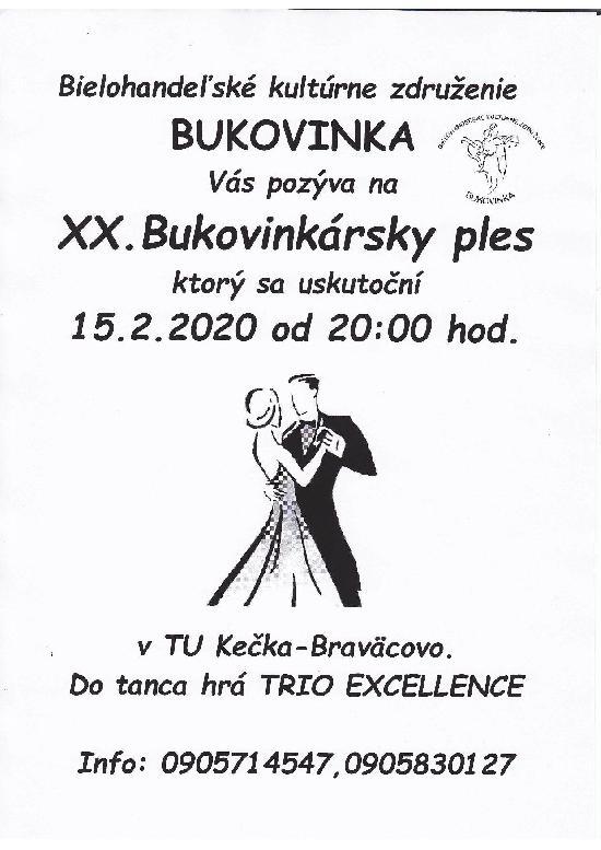 BUKOVINKÁRSKY PLES