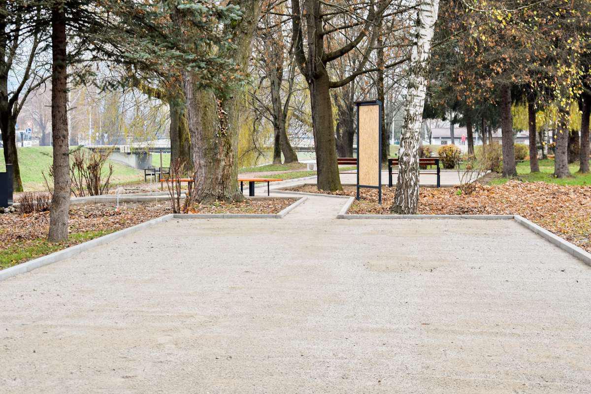 obr: Oddychová zóna sa rozrástla o petangové ihrisko
