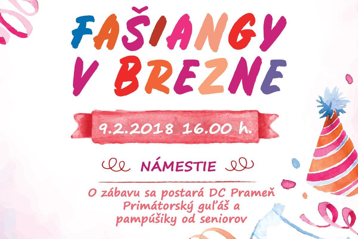 Oslávte fašiangy v Brezne! O skvelú atmosféru sa postarajú seniori z Prameňa