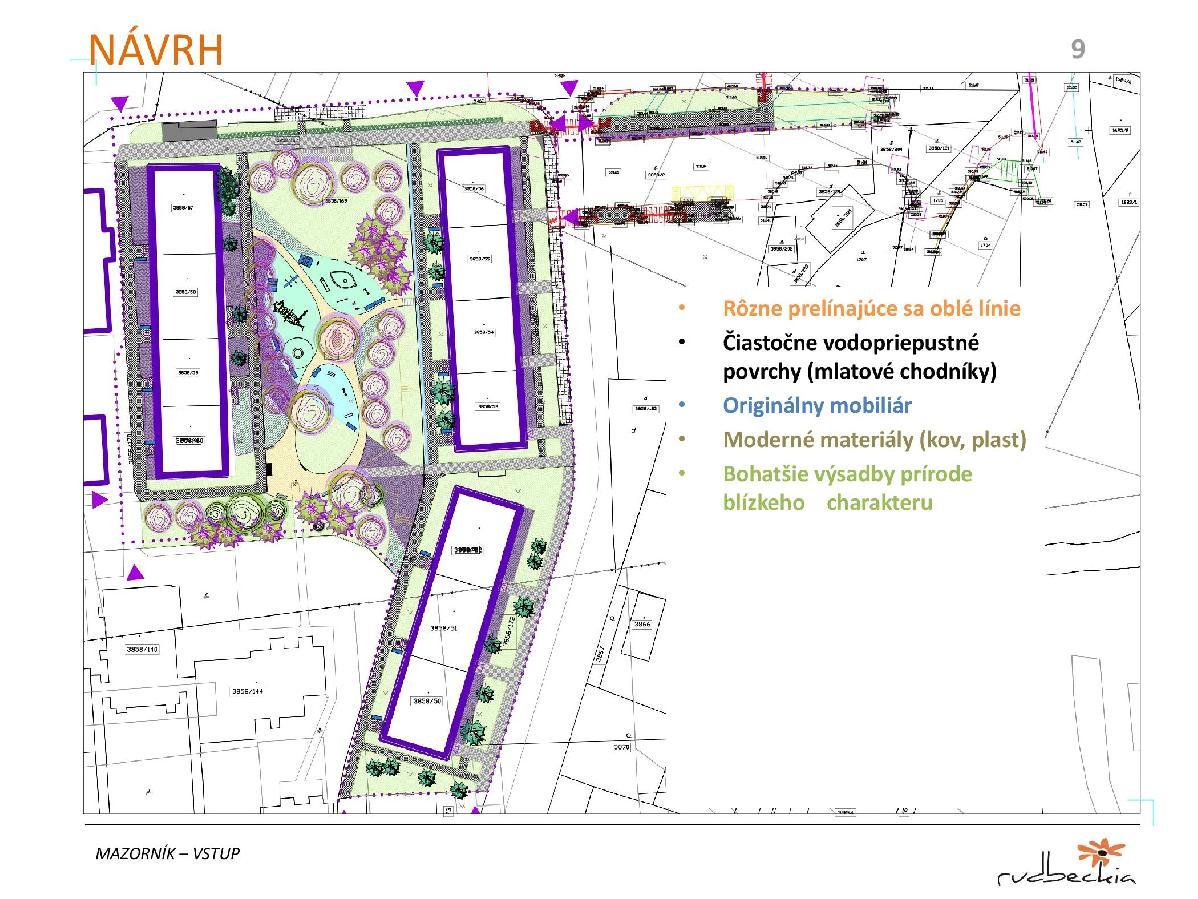 obr: Mesto plánuje ďalšiu regeneráciu vnútroblokov sídlisk. Vstup na Mazorníkovo ožije zeleňou, pribudnú aj novinky