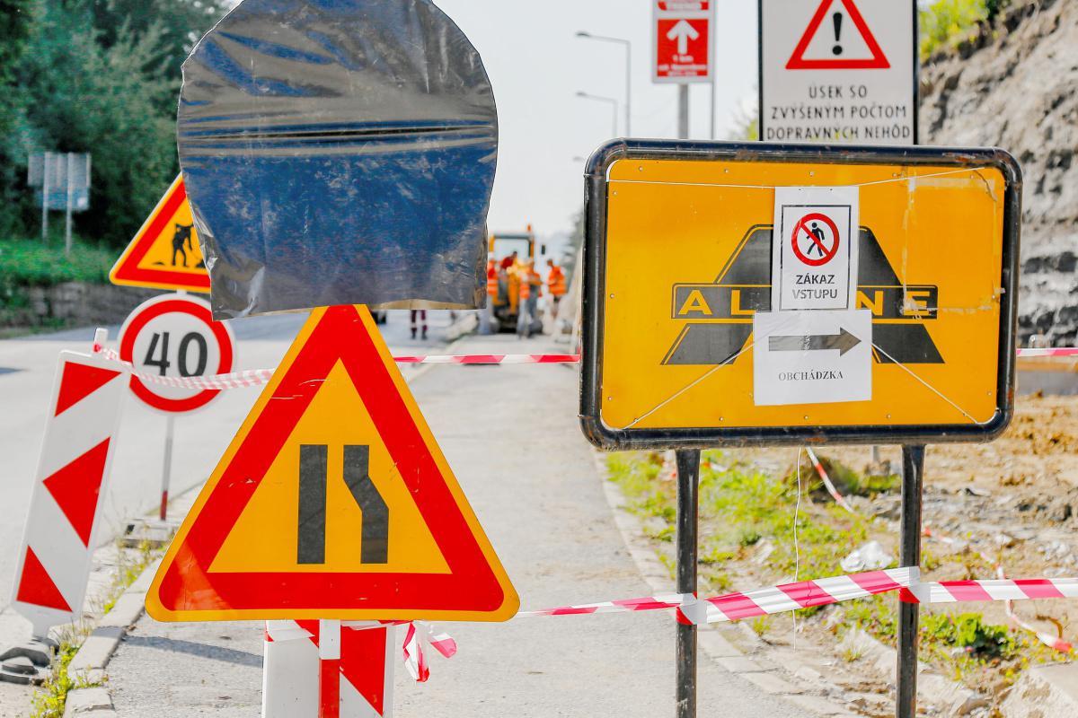 Vodiči, pozor! V súvislosti s prácami na obchvate mesta využívajte obchádzkovú trasu