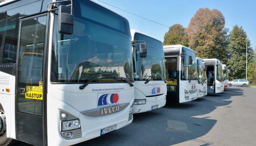 obr: Zmeny v cestovnom poriadku prímestskej autobusovej dopravy SAD Zvolen