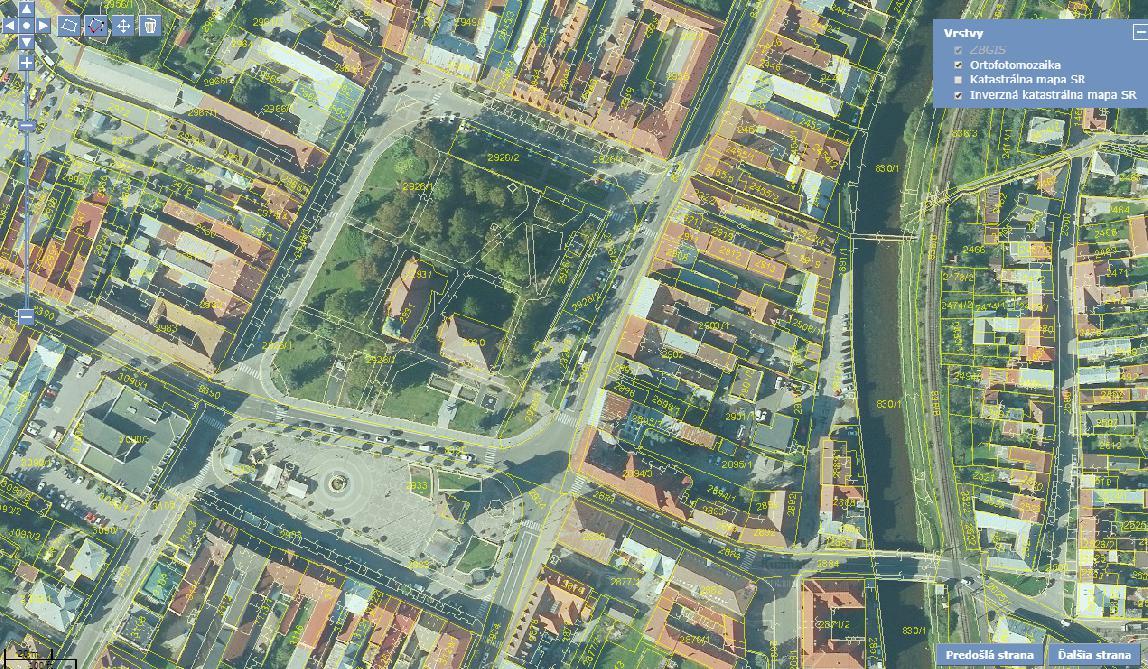 obr: Služba UtilityReport pomáha stavebníkom v Brezne