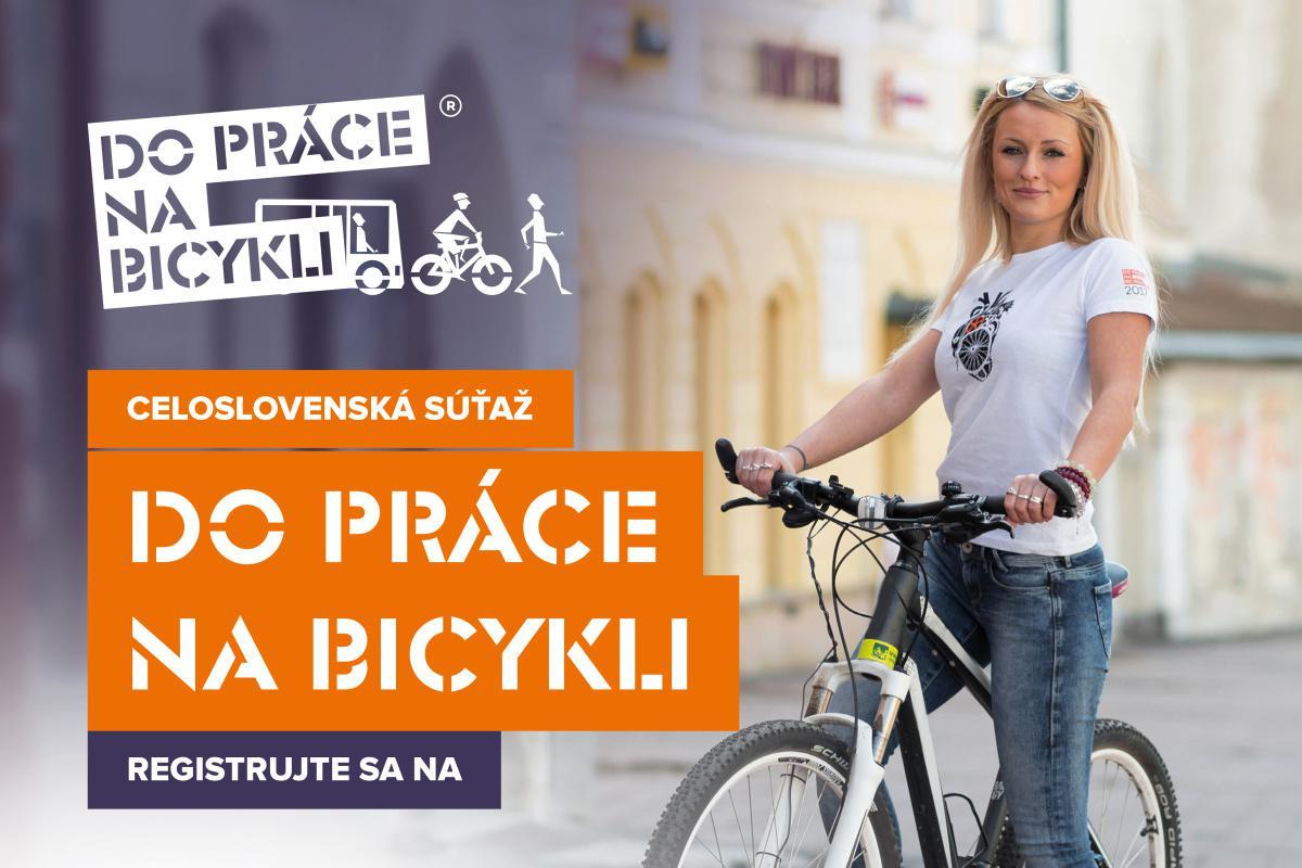 Zapojte sa do súťaže Do práce na bicykli