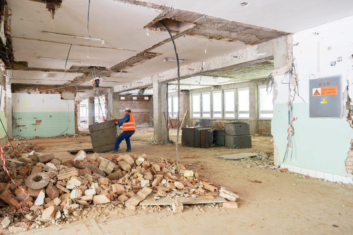 obr: Breznianska nemocnica prechádza najväčšou rekonštrukciou v histórii