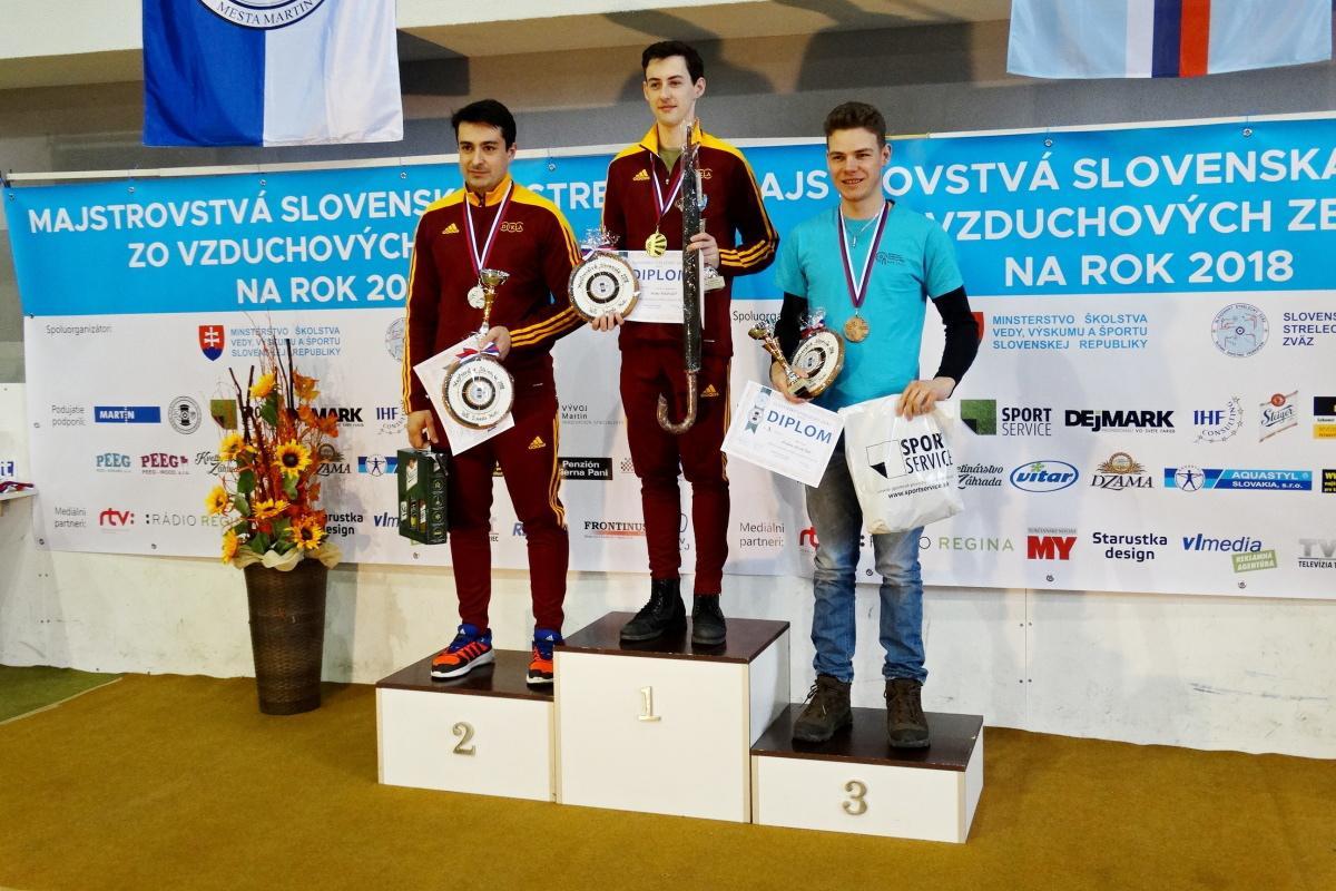 Úspech breznianskych strelcov na Majstrovstvách SR v športovej streľbe