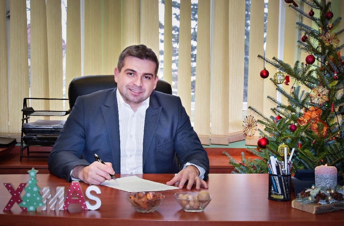 obr: Vianočný príhovor primátora mesta