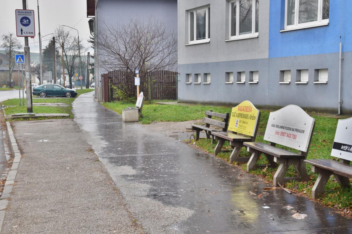 obr: Oprava a údržba autobusových zastávok