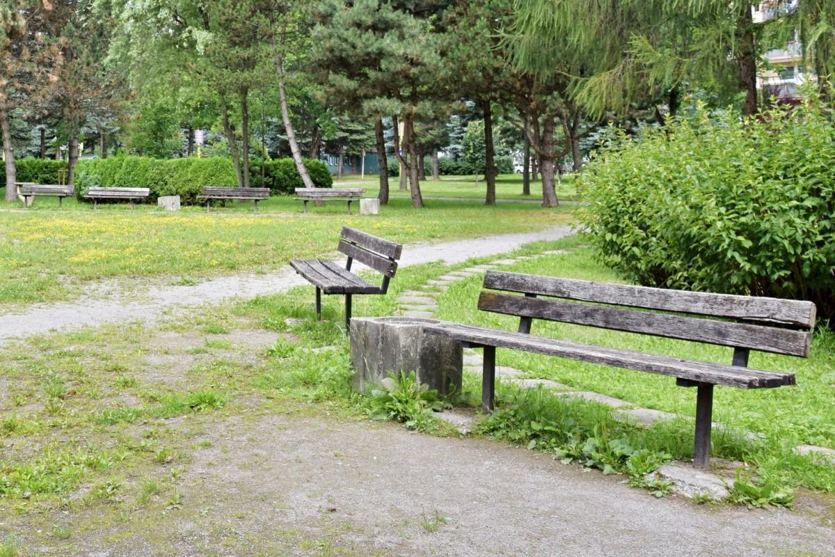 obr: Mesto chce zrevitalizovať Margitin park. Žiada na to prostriedky z eurofondov