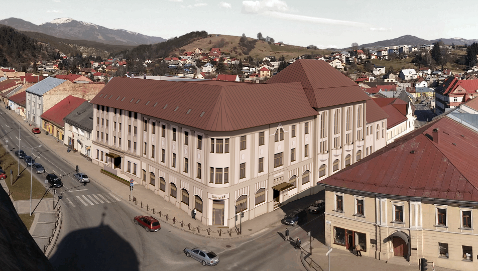 obr: Poznáme víťaza súťaže návrhov na rekonštrukciu hotela Ďumbier