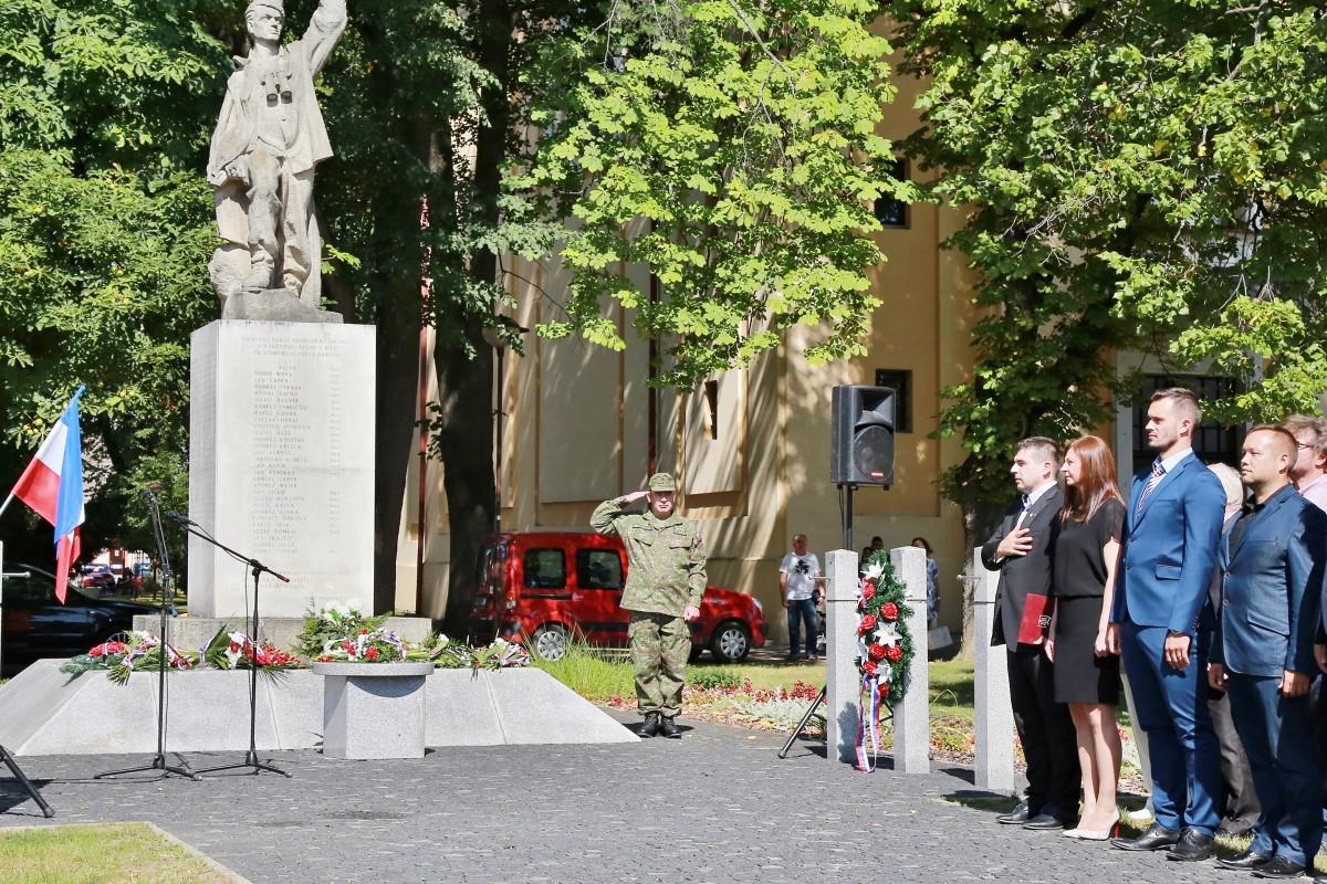 Výročie SNP si pripomenuli aj v Brezne