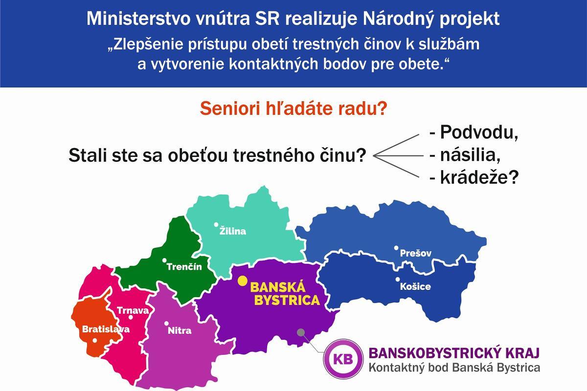 obr: Informačná kancelária pre obete Banská Bystrica