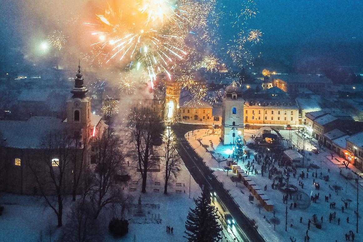 Silvestra v Brezne oslávia na Nový rok
