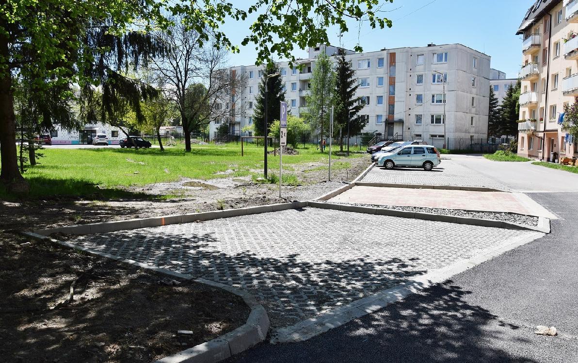 obr: V meste pribudnú ďalšie nové parkovacie miesta