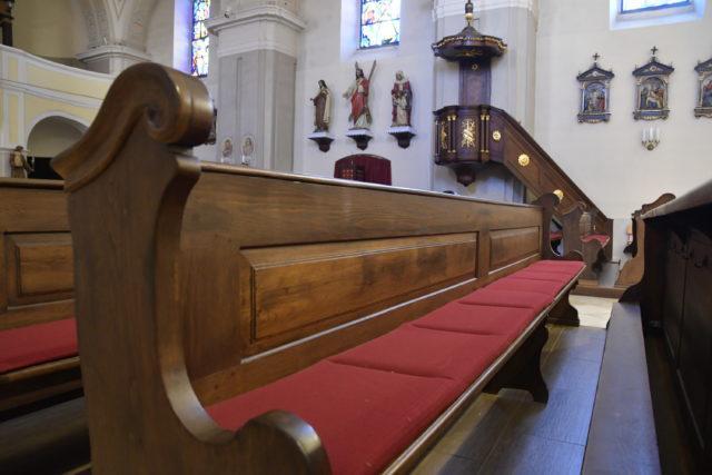 obr: Počas sviatkov sa bohoslužby vBrezne opäť uskutočnia bez účasti veriacich. Dostupné ale budú online