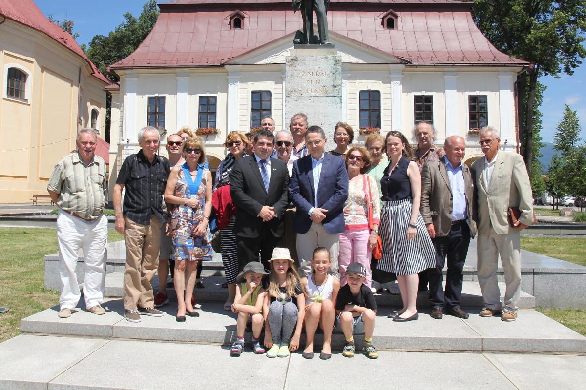 Primátor Brezna prijal delegáciu ľudí, ktorí prispeli k rozvoju frankofónie