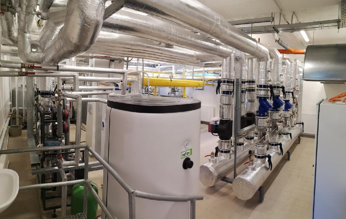 obr: Rekonštrukciou vbreznianskej nemocnici prešli aj technológie tepelného avodného hospodárstva