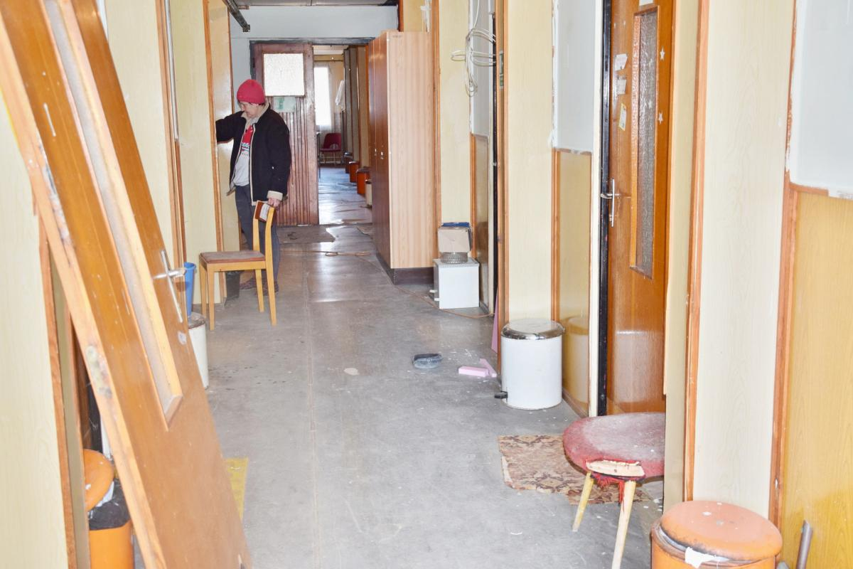 obr: Renovácia budovy, v ktorej sú sústredené sociálne služby ľuďom bez domova