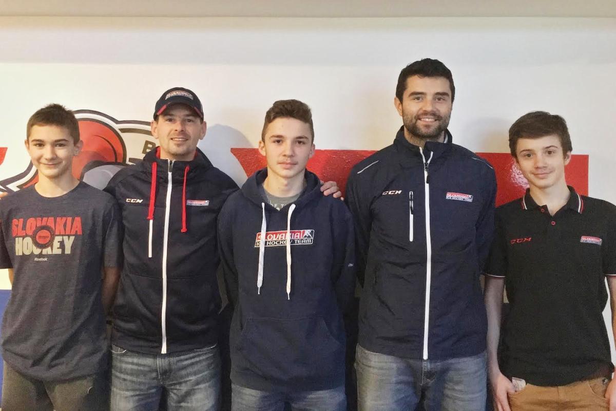 Breznianski hokejisti sa v reprezentácii nestratili