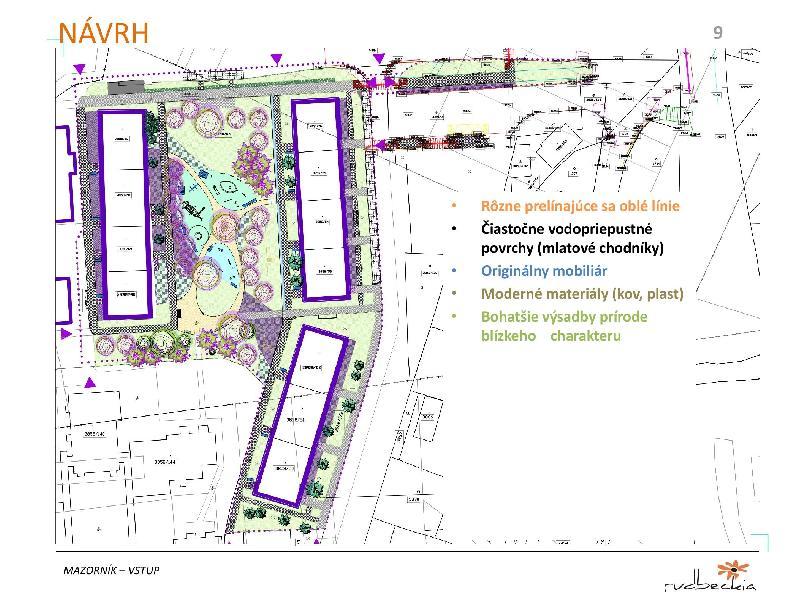 Mesto plánuje ďalšiu regeneráciu vnútroblokov sídlisk. Vstup na Mazorníkovo ožije zeleňou, pribudnú aj novinky
