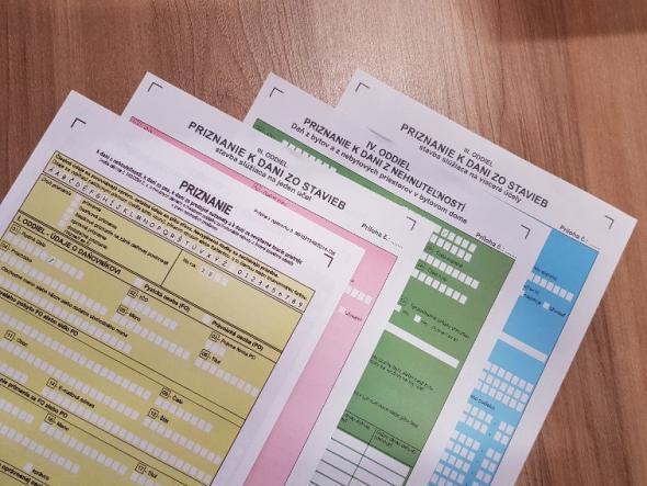 Daňové priznanie k dani z nehnuteľnosti