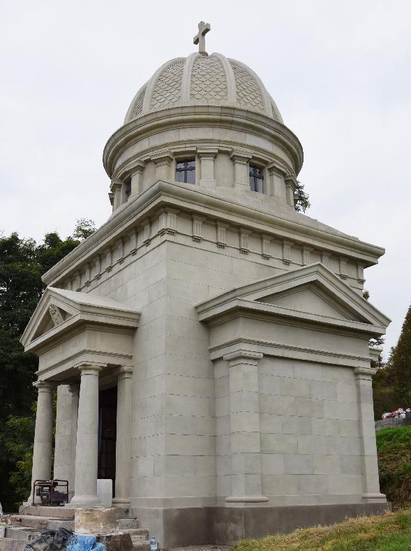 Tretia etapa obnovy Hrobky rodiny Lehotských