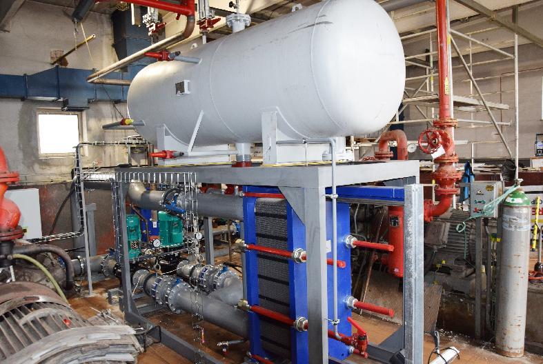 Rekonštrukcia chladiaceho systému na zimnom štadióne  finišuje