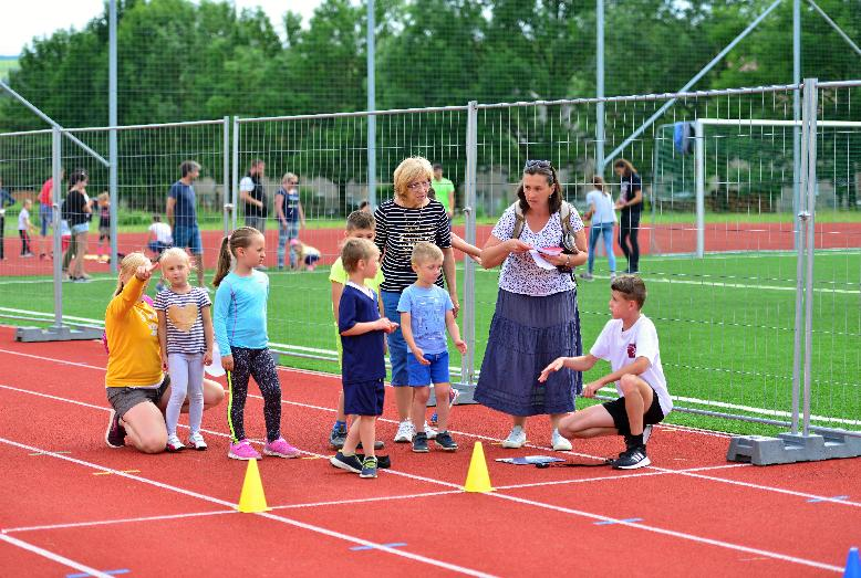 Na prvom kole športiády súťažilo 35 detí vo veku do desať rokov