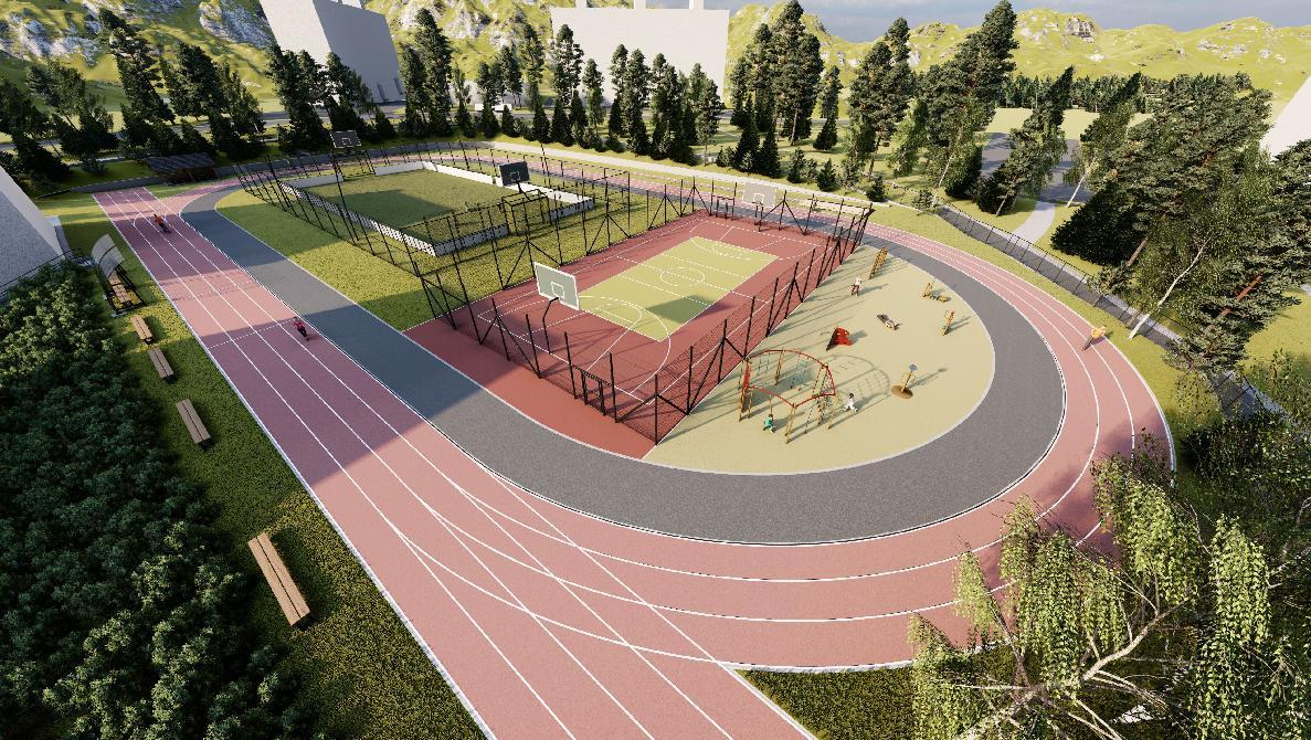 obr: Mesto plánuje zrekonštruovať športový areál pri Základnej škole smaterskou školou na Mazorníkove