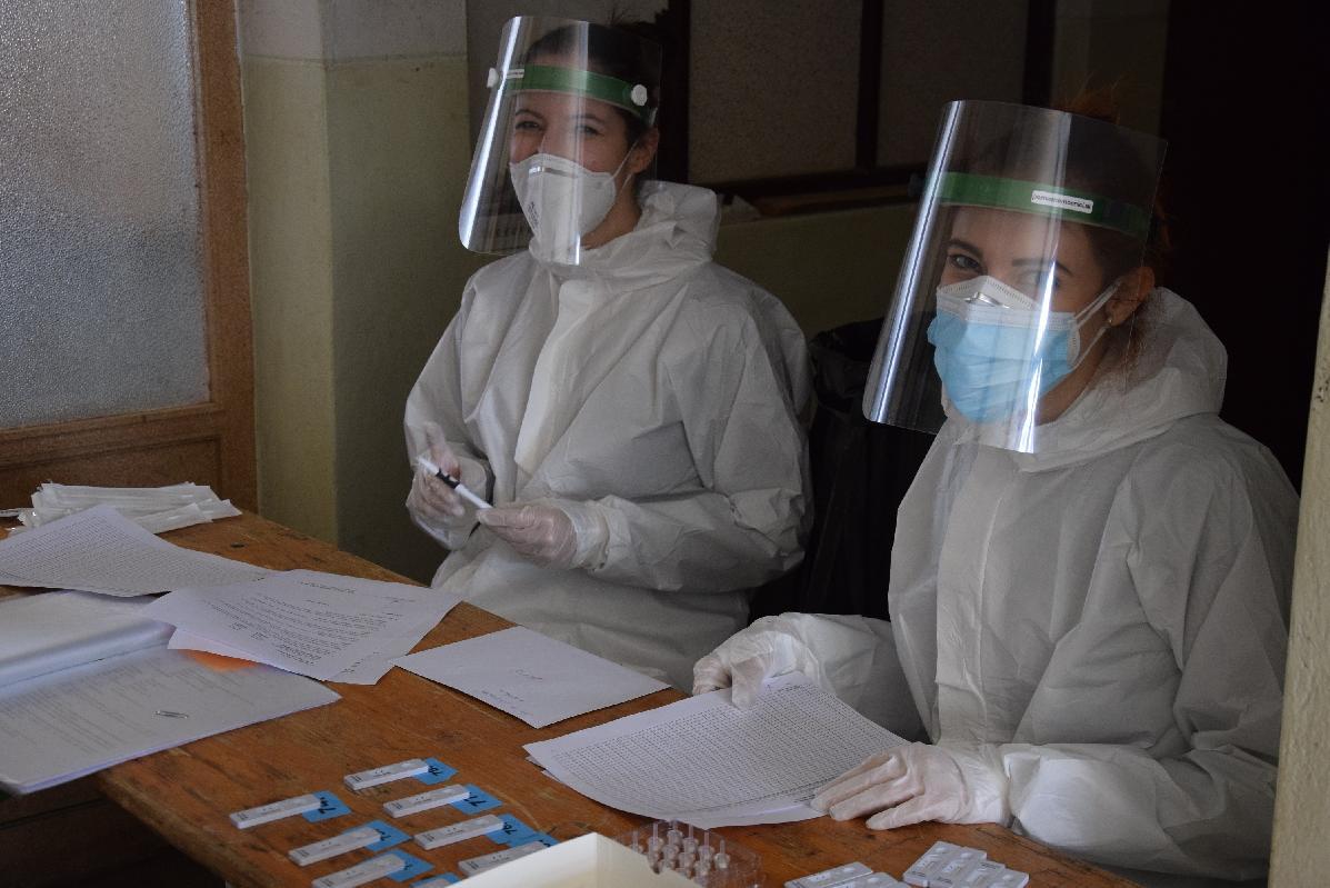 obr: Brezňania majú možnosť testovať sa na stálych odberových miestach počas celého týždňa