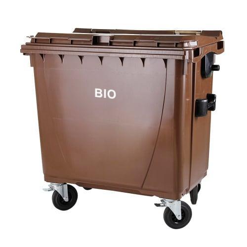 obr: V Brezne pribudli hnedé kontajnery na zelený bioodpad z domácností